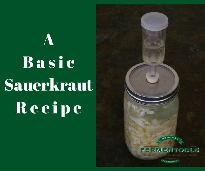 basic sauerkraut recipe